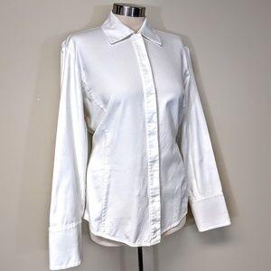 Ellen Tracy Cotton Dress Shirt
